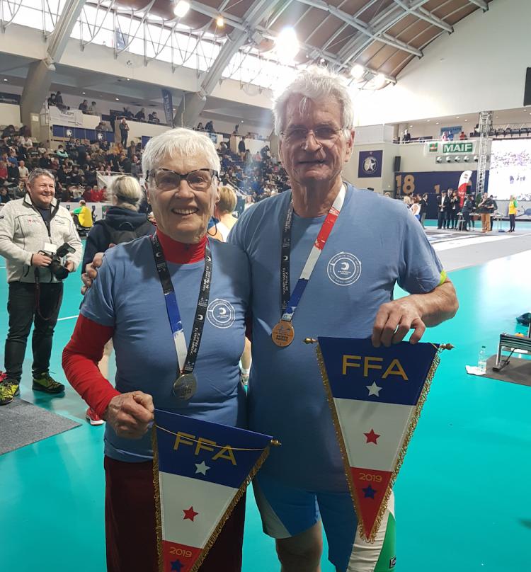 Champions du monde aviron Indoor 2019