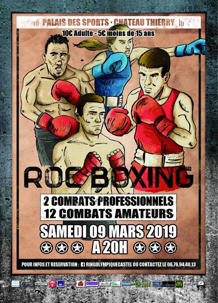 ROC Boxing samedi 9 mars