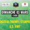 Affiche football CTEFC vs US VIMY le 3 mars 2019
