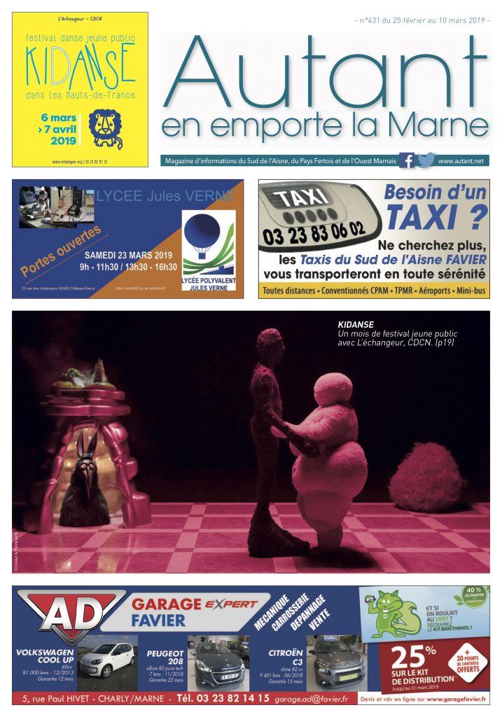Miniature journal Autant en emporte la Marne numéro 431