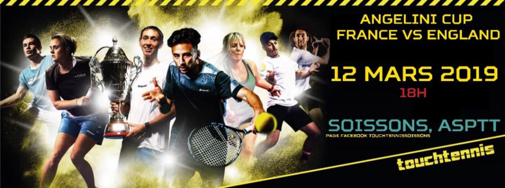 Affiche Tennis : Angelini Cup Soissons 12 Mars 2019