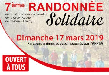 7e Randonnée Solidaire ARPSA / Croix Rouge