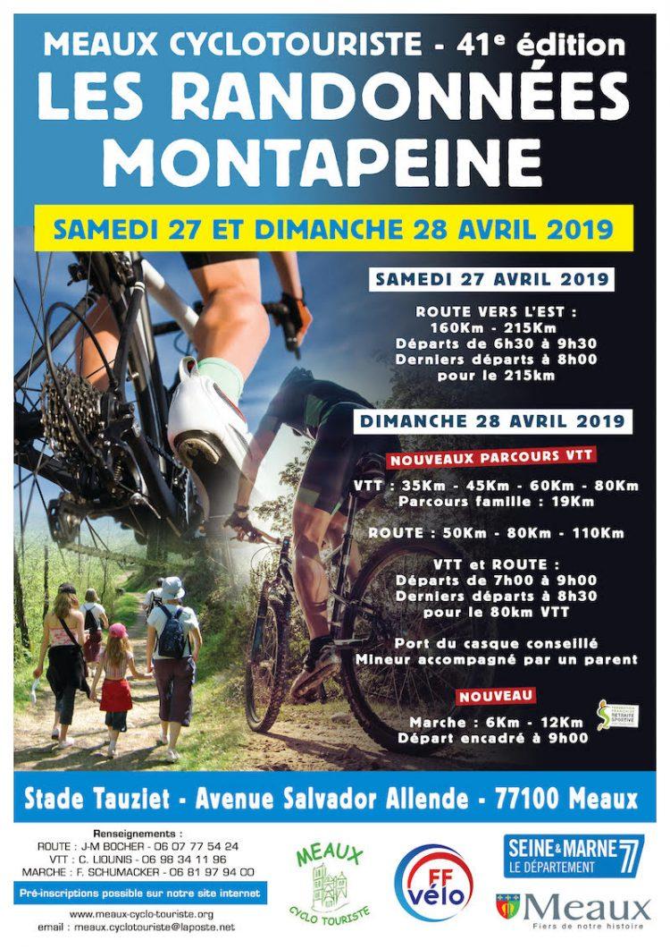 Affiche 41e Randonnées de Montapeine