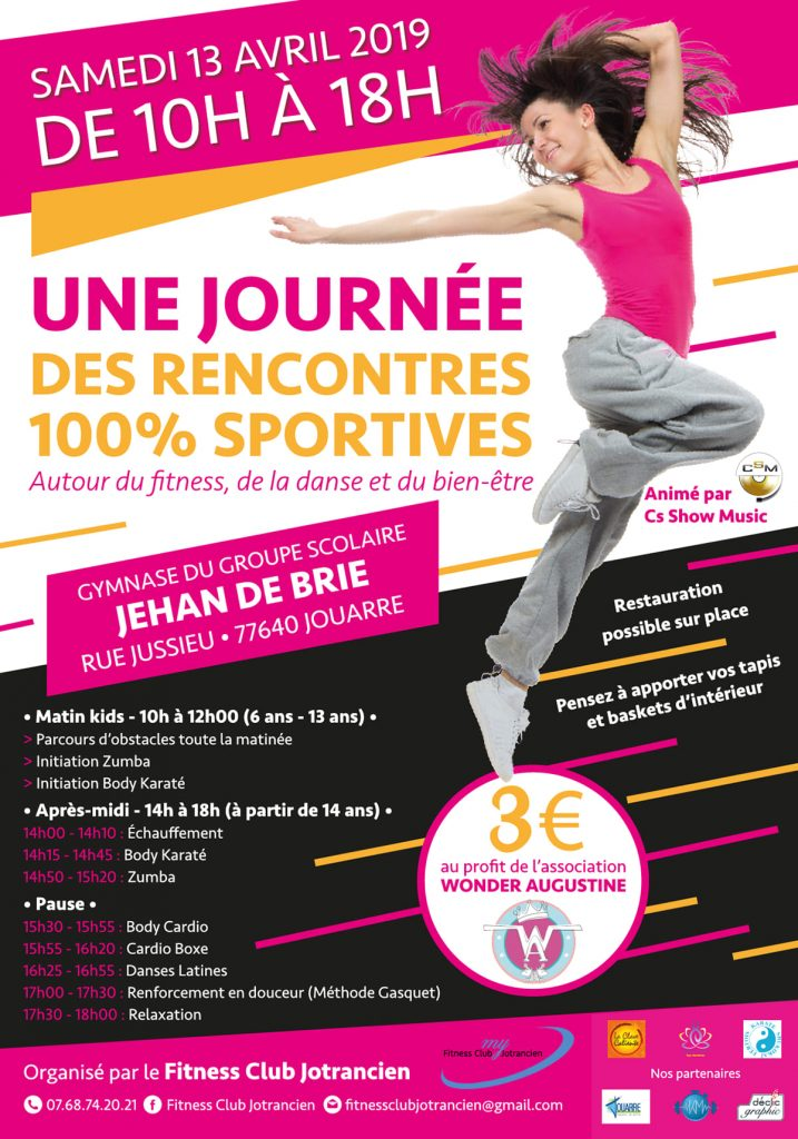 Rencontre 100% Sportives Fitness Jouarre le 13 avril