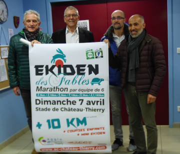 Point presse Ekiden des Fables 2019