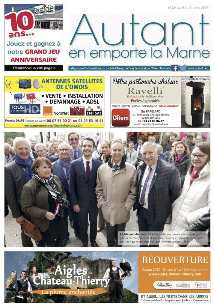 Château-Thierry journal Autant en emporte la Marne 434