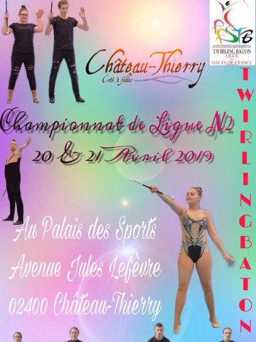 twirling-aisne-championnat-league-n2-affiche