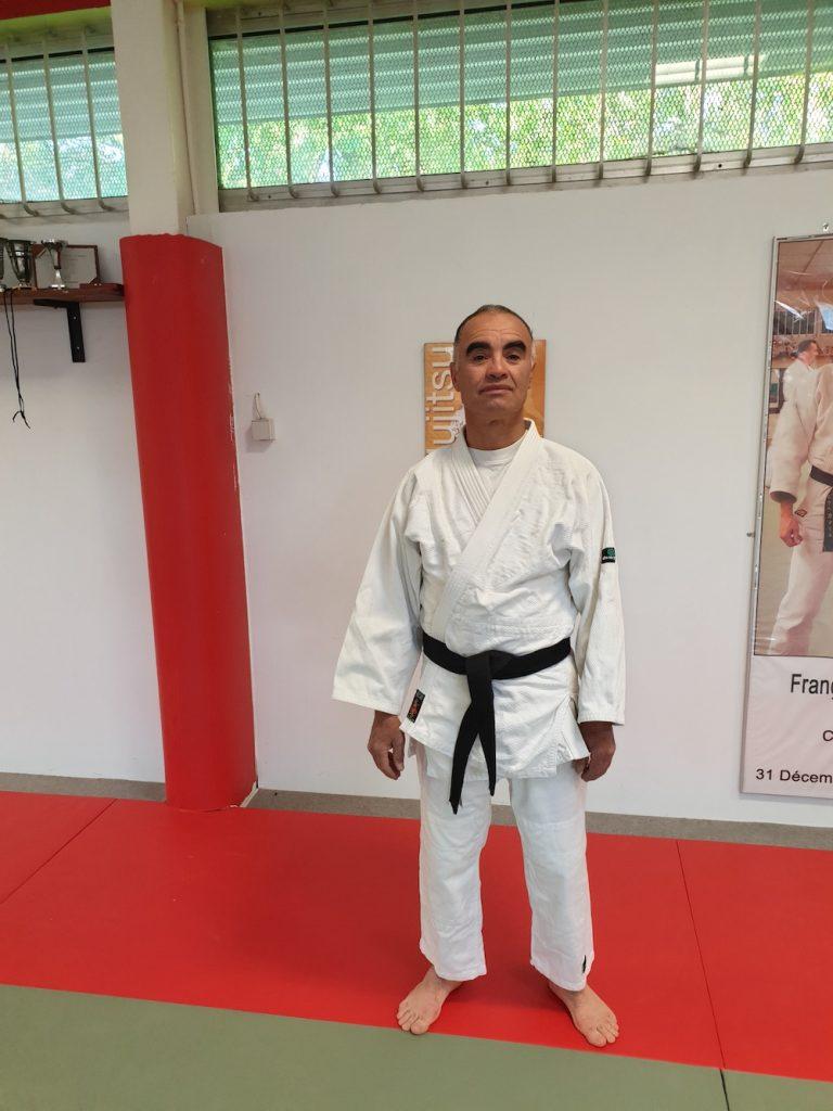 Hamid Ceinture Noir Judo Club de Chateau Thierry