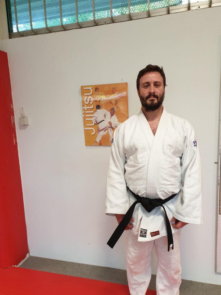 Nicolas Ceinture Noir Judo Club de Chateau Thierry