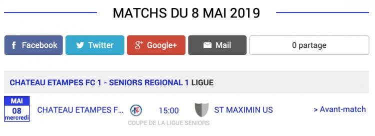 agenda football sud aisne matchs 8 mai 2019 1 sur 2