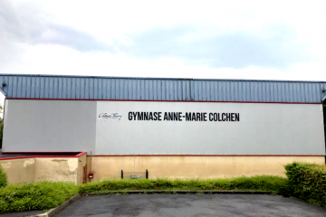 Inauguration du Gymnase Anne-Marie Colchen