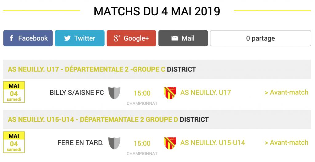 football-aisne-agenda-matchs-4-mai
