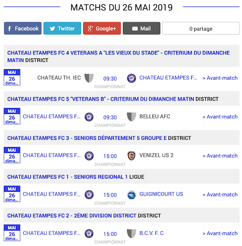 football matchs sud de laisne 25 mai 2019