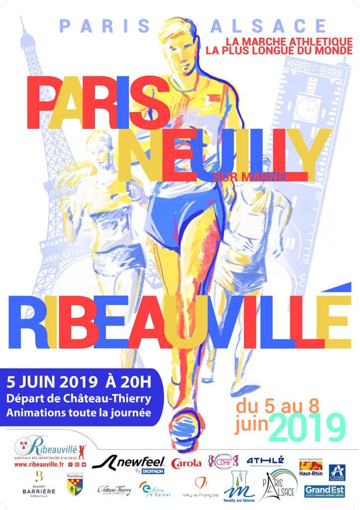Paris Alsace étape chateau thierry le 5 juin 2019