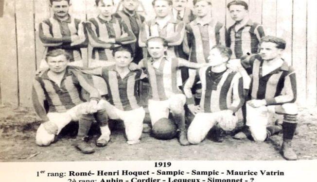 100 ans UAF Fere en Tardenois Football