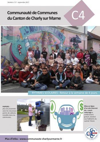 Bulletin de la Communauté de Communes du Canton de Charly sur Marne 2017