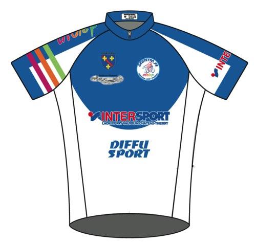 T Shirt aux couleurs de Grupetto club de cyclisme Condé en Brie