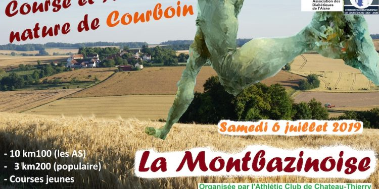 Affiche Montbazinoise 2019 Courboin