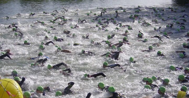 Photo triathlon de l'Omois Château-Thierry 2018
