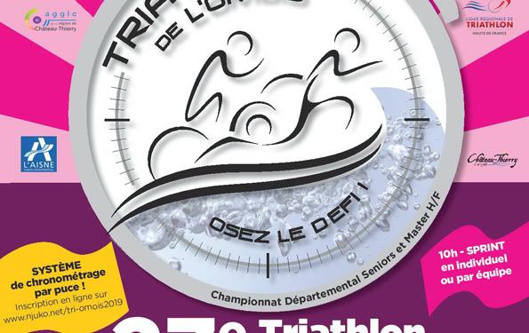 Triatlhon de l'Omois 2019 Château-Thierry