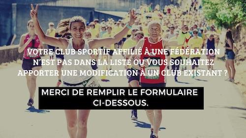 Course à pied club sportif Château-Thierry