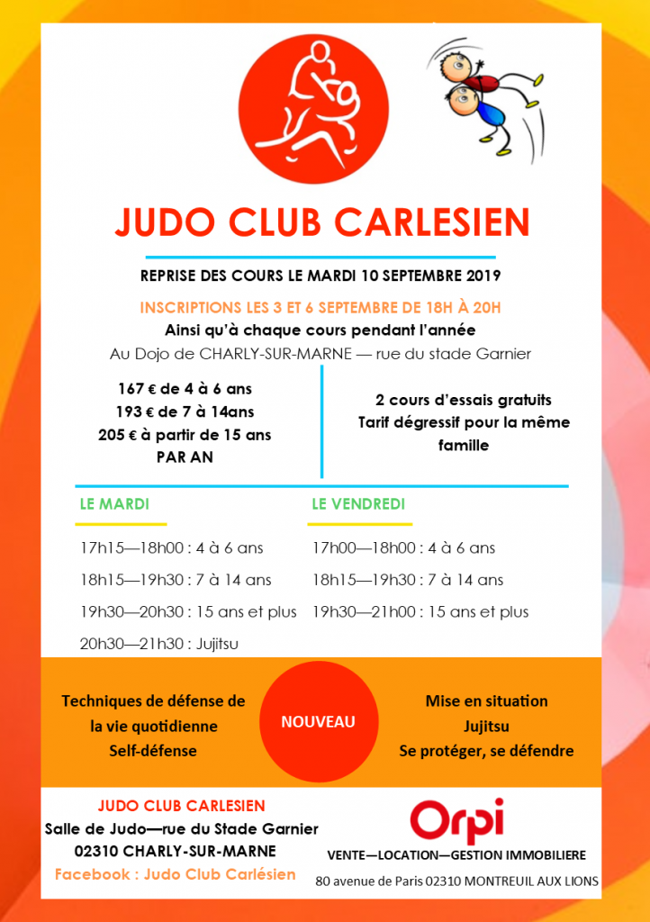 Cours Judo Club Carlésien