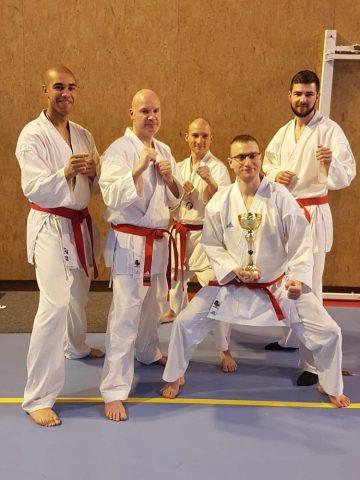 Equipe du karate budo kai charly sur marne