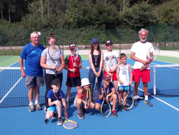 Photos enfants stages de tennis aout 2019 au tennis club du tardenois
