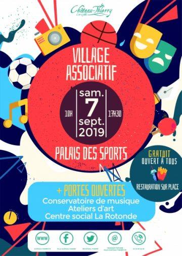 Village Associatif de Château-Thierry samedi 7 septembre 2019