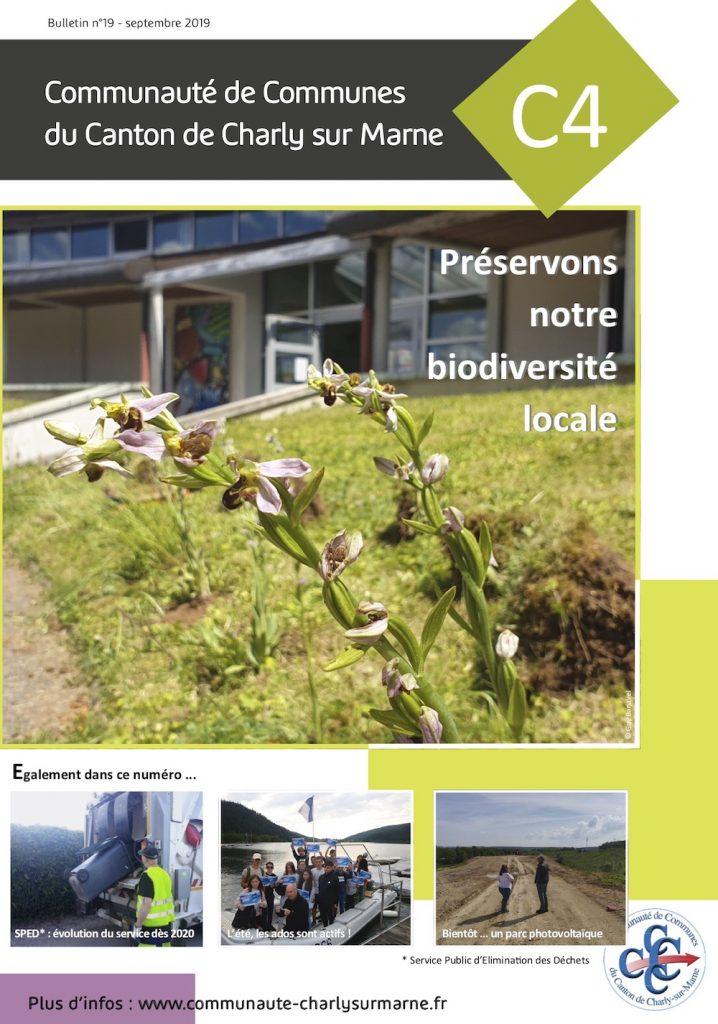 Couverture du Bulletin de la Communauté de Communes du Canton de la Charly-sur-Marne