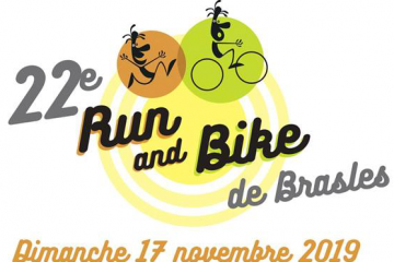Couverture du Run and Bike de Brasles le 17 novembre 2019