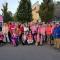 Marcheurs de rando-rose pour Octobre Rose