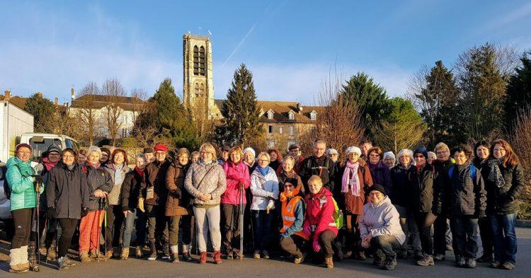 Photo de groupe des randonnées du sud de l'Aisne