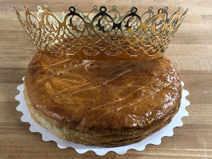 Galette et couronne pour la Fournée des Fables de Château-Thierry