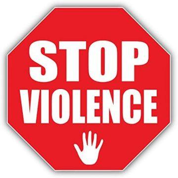 panneau stop violences