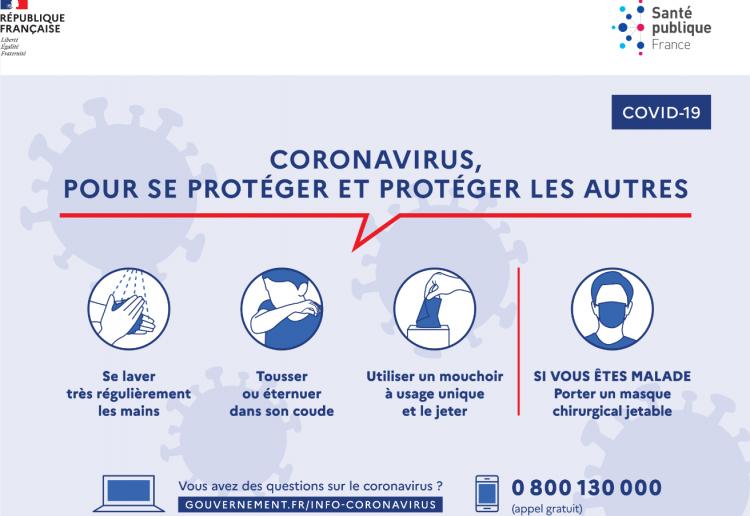attestations coronavirus