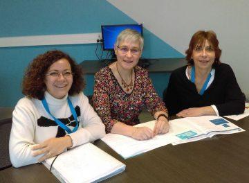 Erasmus trois femmes enseignnantes lycée jules verne Chateau-Thierry