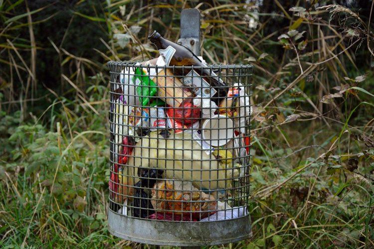 corbeille déchets nature château-thierry