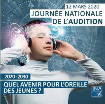 Affiche journée nationale de l'audition 2020 à Château-Thierry