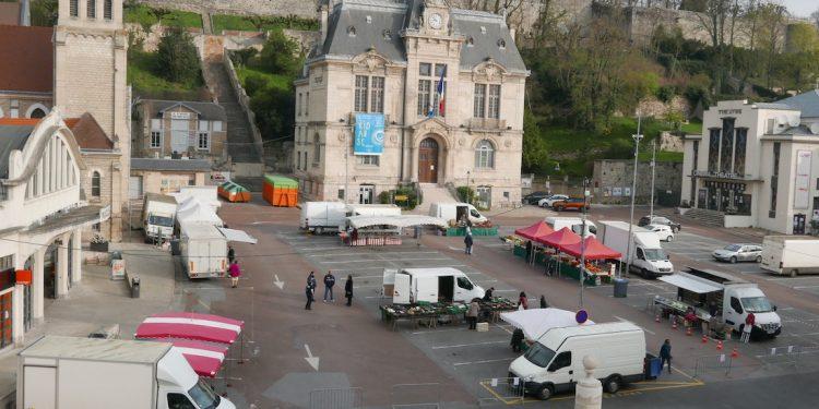 Marché ouvert Château-Thierry