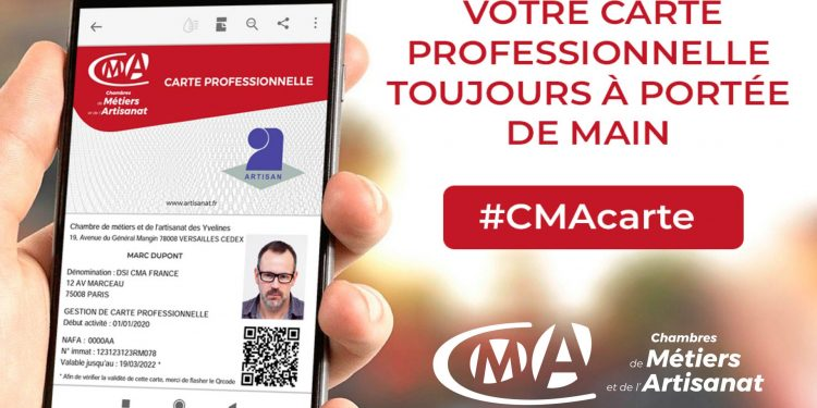 carte CMA artisans Hauts de France