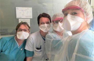 Soignantes de l'hôpital de Château-Thierry