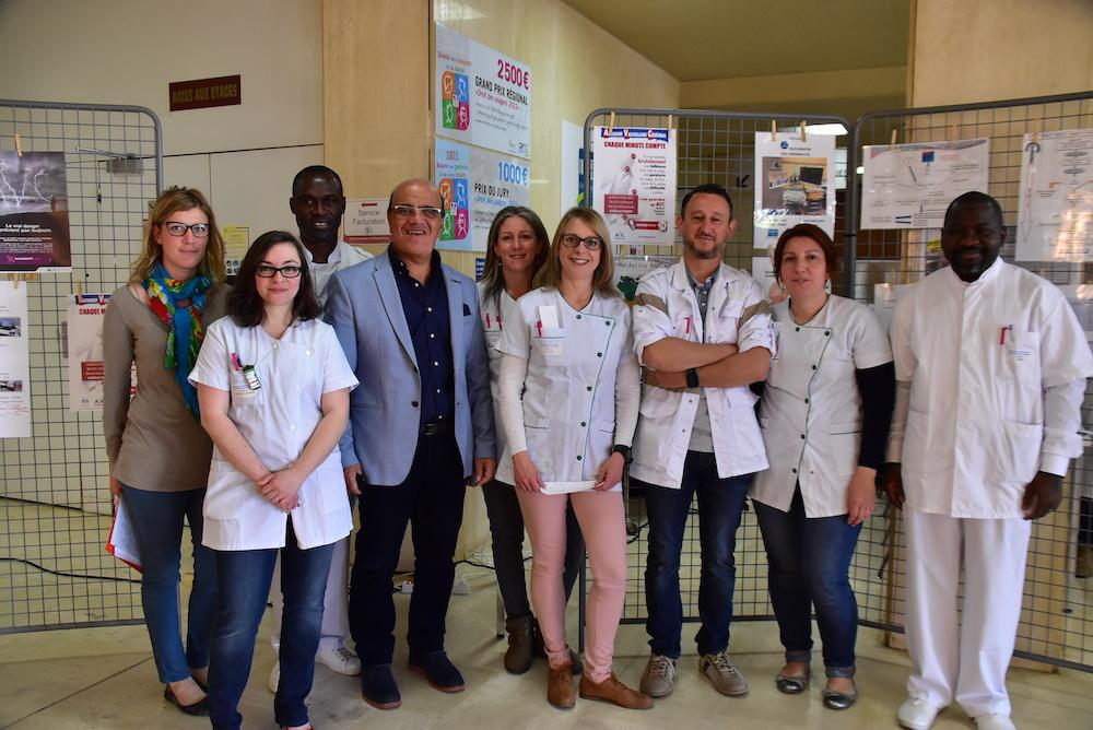 Equipe santé de l'hôpital de Château-Thierry