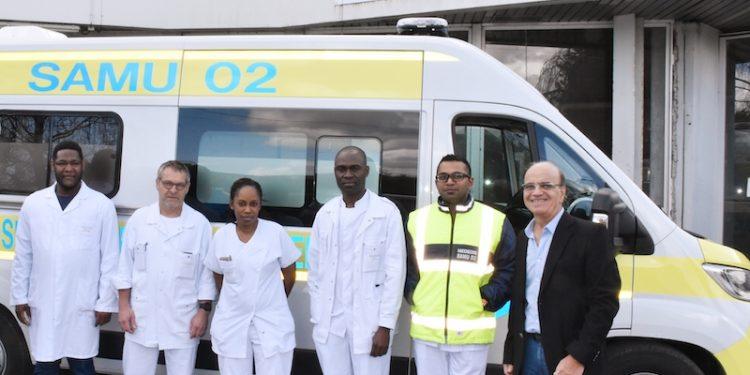 L'équipe du SAMU de l'hôpital de Château-Thierry