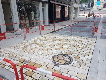 Travaux rues de Château-Thierry