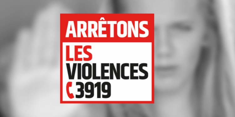 Message de signalement des violences intrafamiliales