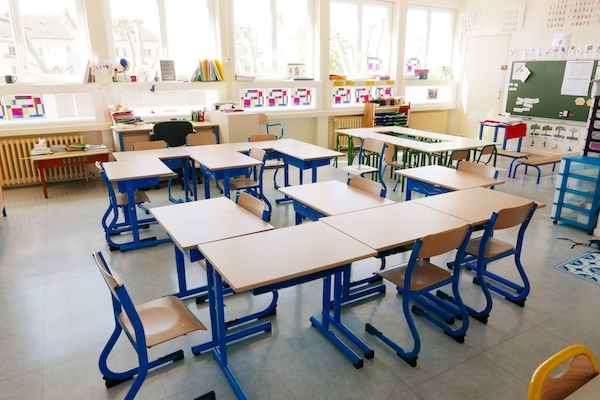 Une classe de l'école des Chesneaux