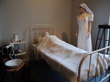Grippe espagnole à l'hôtel dieu de Château-Thierry