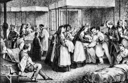 """Photo historique """"épidémie de choléra"""""""