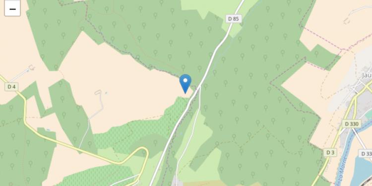 Carte du coteau de chartèves